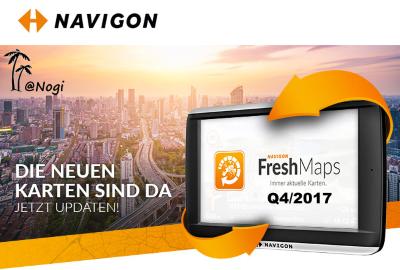 Navigon Europe Q4/2017 Fresh Maps MN7 & MN8 - GPS