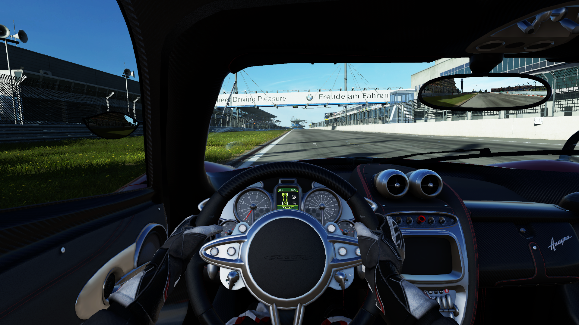 Can I Request A Project Cars Cockpit View Of The Pagani Huayra On Either Platform Something Like This Gameplay Please