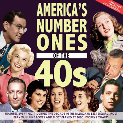 America's Number Ones Of The 40s (6CD's) (2019)