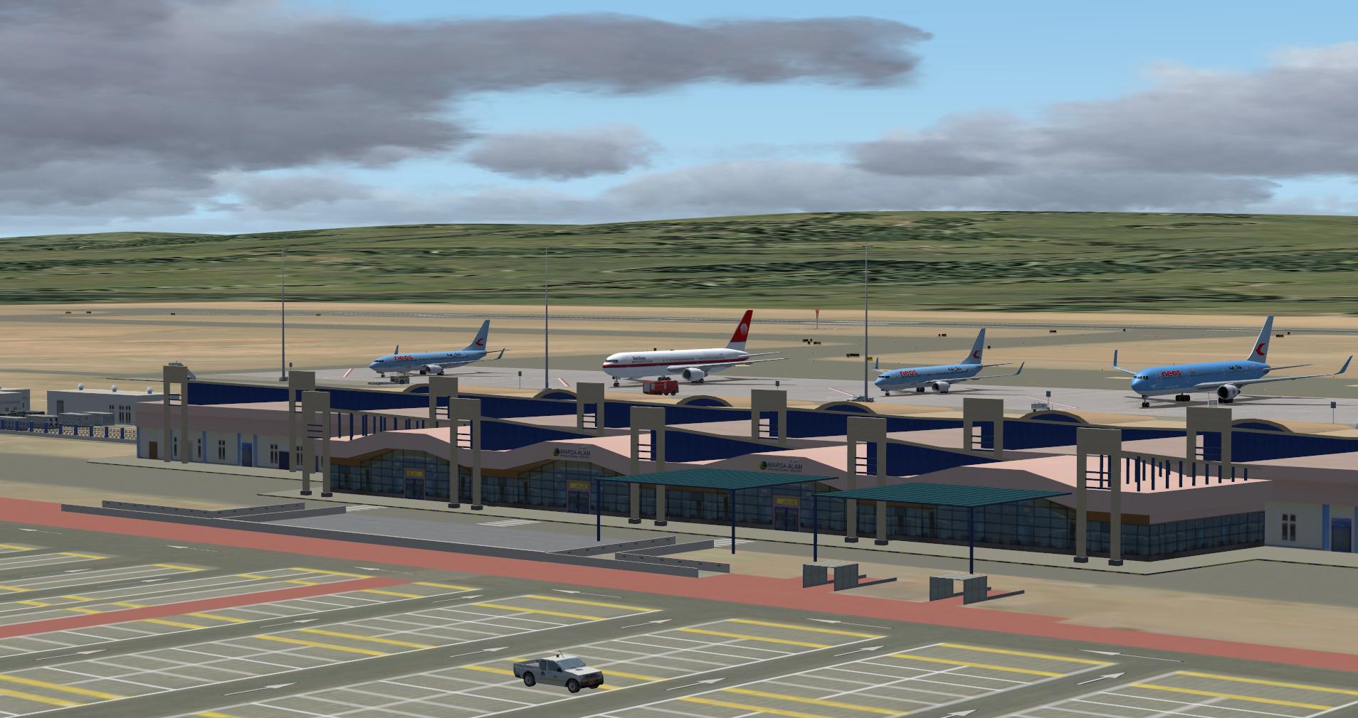 Marsa Alam Int Airport Hema Rmf Released By Albysim Szenerien