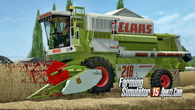 Claas Mega Pack 208 – 218 v1 0 ls15 | Farming Simulator 15