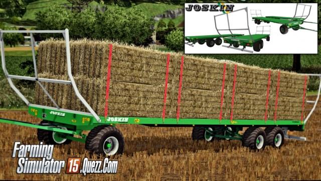 joskin wago pack remorques v1 0 ls15 farming simulator 15. Black Bedroom Furniture Sets. Home Design Ideas