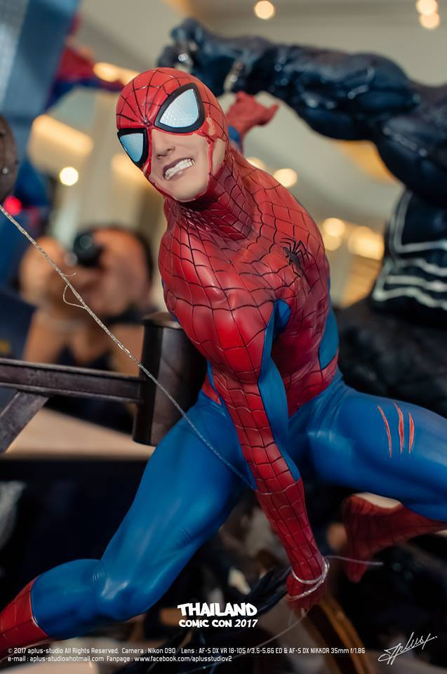 Premium Collectibles : Spiderman** Fvdh0w2sk5