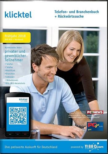 download KlickTel Telefon und Branchenbuch Fruehjahr 2018