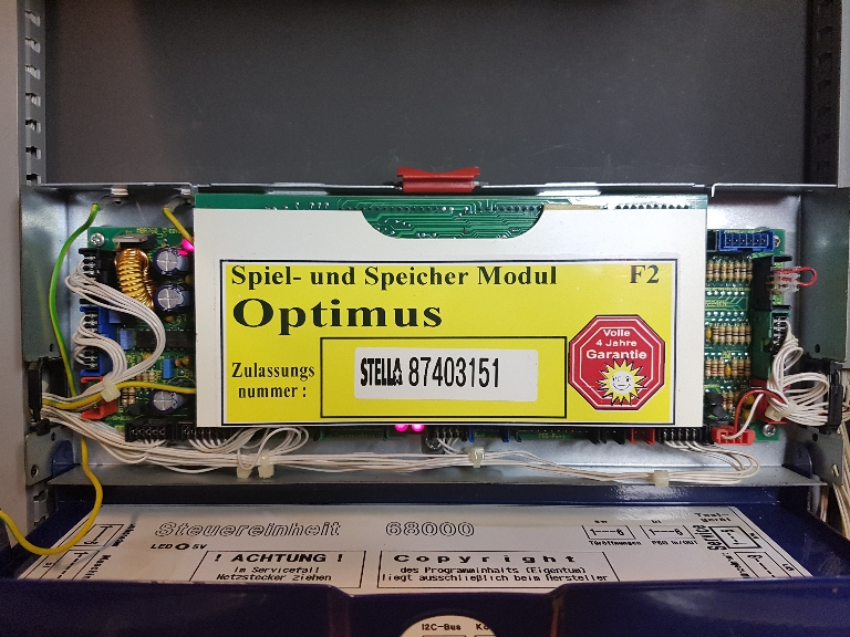 Merkur spielautomat zeigt foul