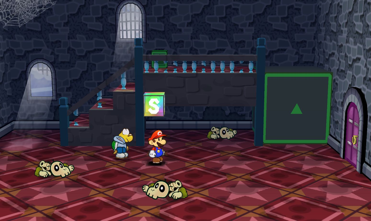 paper mario emulator flicker