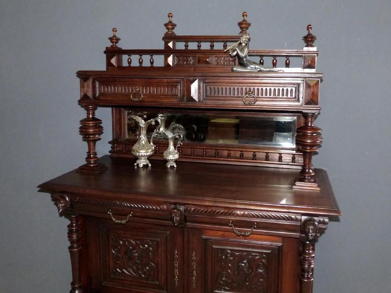 gr nderzeit renaissance anrichte antik kommode highboard vertiko schrank buffet ebay. Black Bedroom Furniture Sets. Home Design Ideas