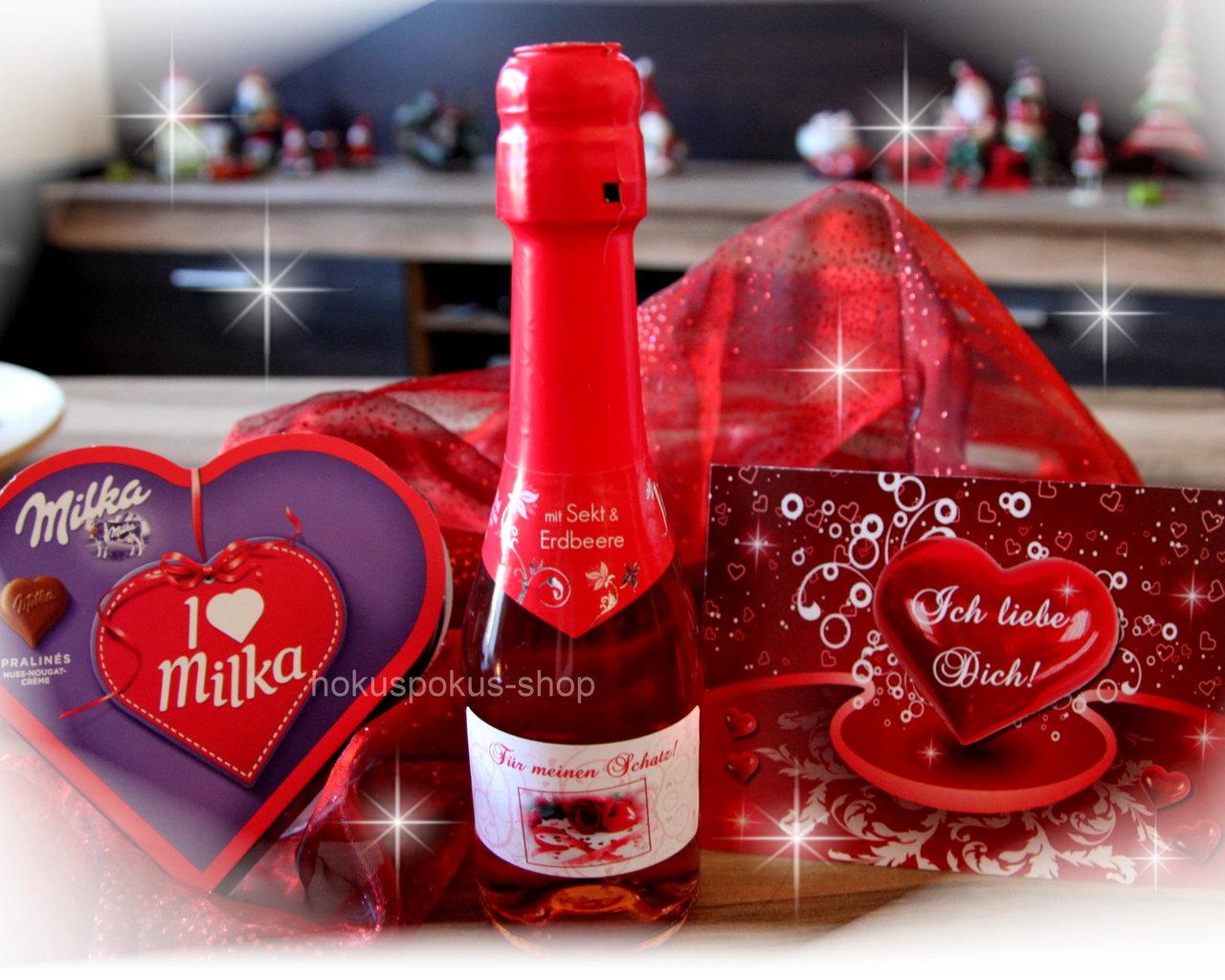 Geschenkset Mit Ihrem Wunschnamen Valentinstag Geschenk Geburtstag Jahrestag