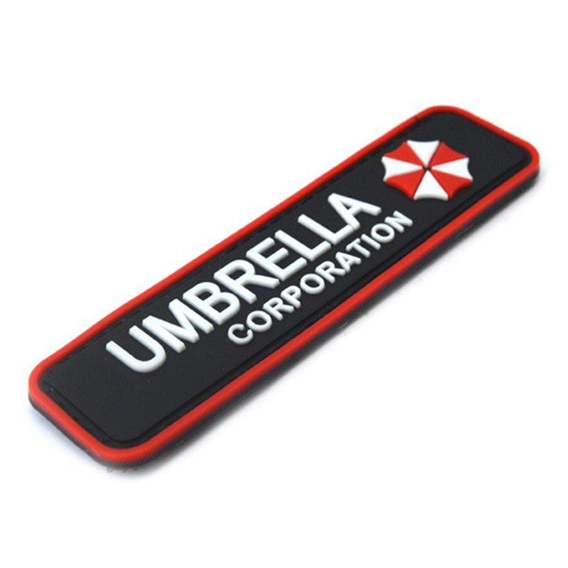 Umbrella Corporation Klett Patch B-Ware Paintball Resident Evil Gaming Merch Bekleidung & Schutzausrüstung