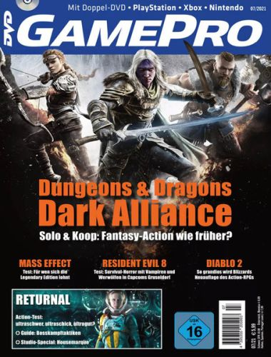 Cover: Gamepro Magazin (Playstation Xbox Nintendo) No 07 Juli 2021