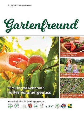 Cover: Gartenfreund Magazin No 07 Juli 2021