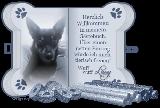 Gästebuch Banner - verlinkt mit http://lucys-kleine-welt.npage.de/
