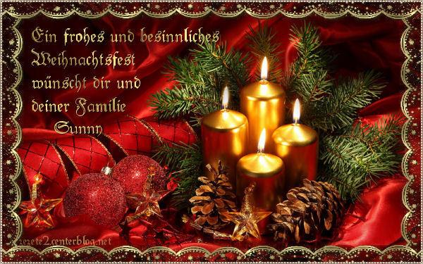 Frohe Weihnachten Wünsche Ich Dir Und Deiner Familie.Liste Der Einträge