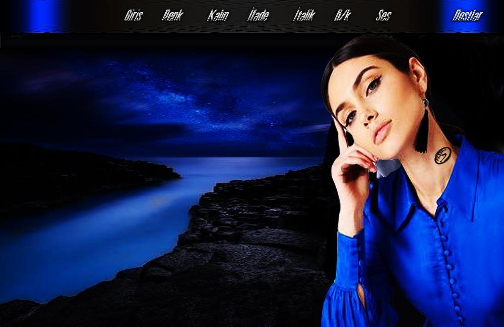 Gece Mavisi Bayan Tema