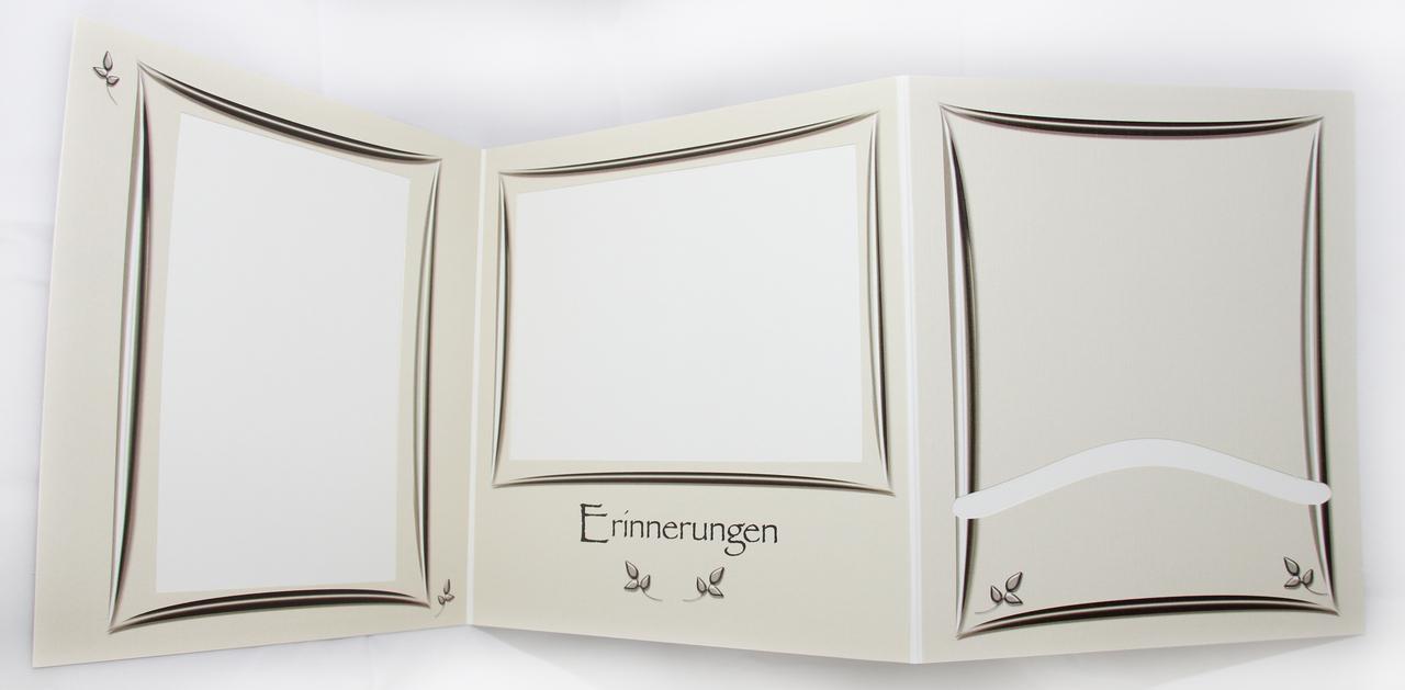 5 st ck portraitmappen memories fotoalbum leporello fotomappe 13x18 cm ebay. Black Bedroom Furniture Sets. Home Design Ideas