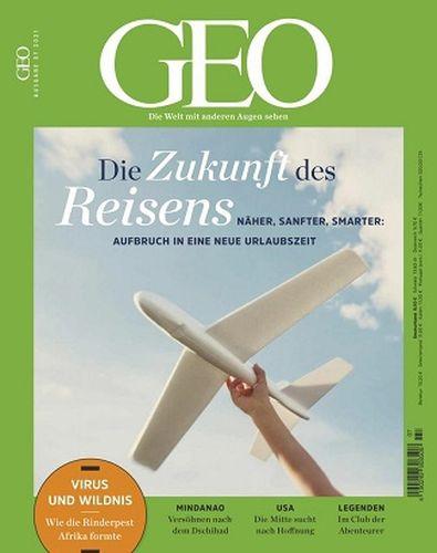 Cover: Geo Magazin Die Welt mit anderen Augen sehen No 07 Juli 2021