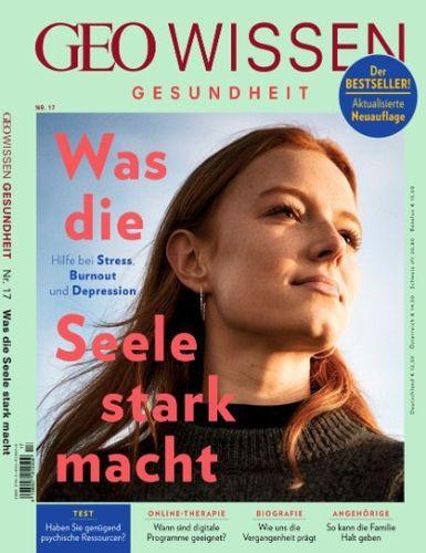 Cover: Geo Wissen Gesundheit Magazine No 17 2021