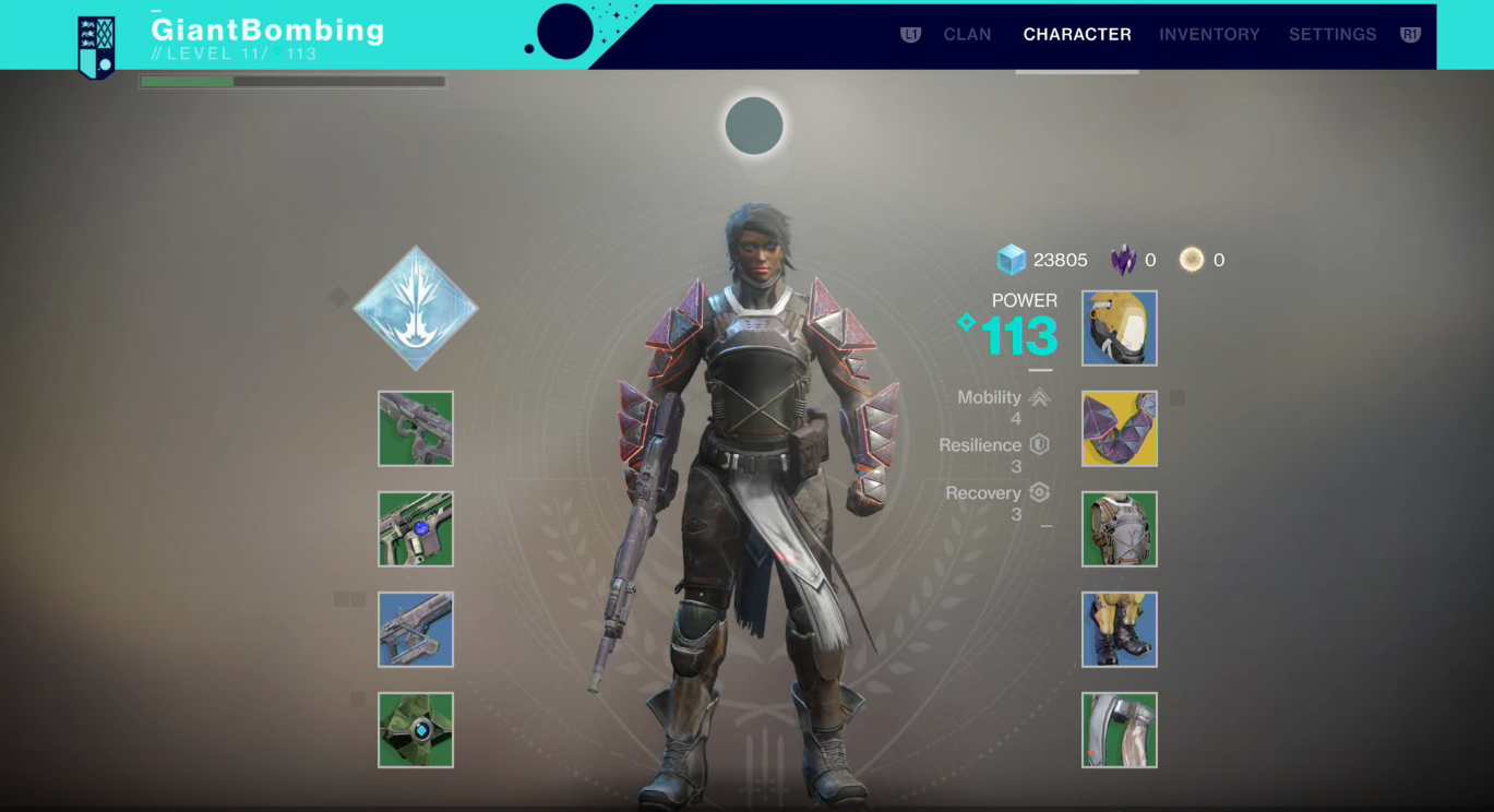 Destiny 2 character creator is almost identitical to the Destiny's