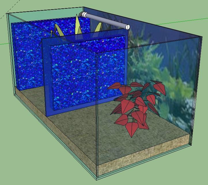 Aquarium Abteilen