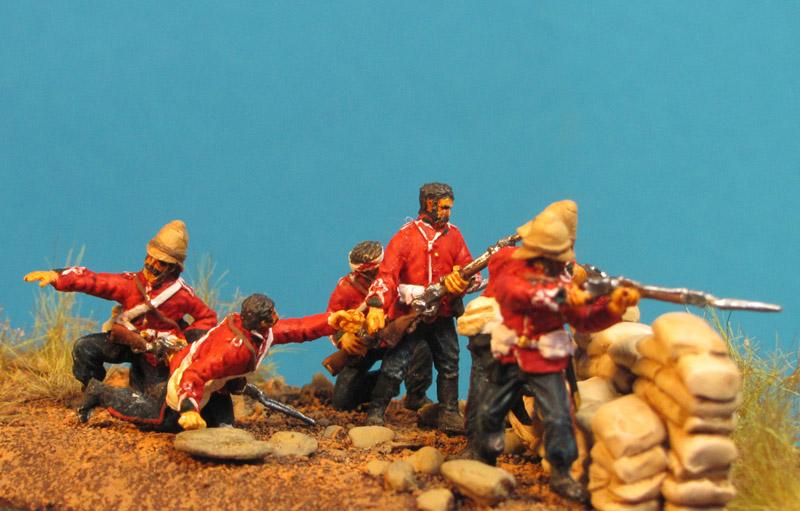 Gefecht bei Rorke's Drift im Zulukrieg 1879 Gf72-8503-8002skga