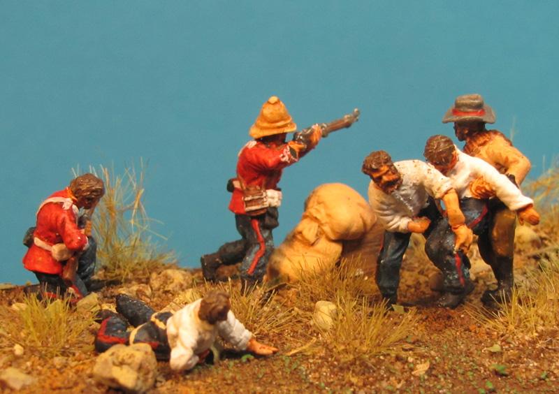Gefecht bei Rorke's Drift im Zulukrieg 1879 Gf72-8506-8007pi1f