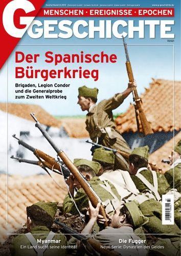 Cover: G Geschichte Magazin No 07 2021