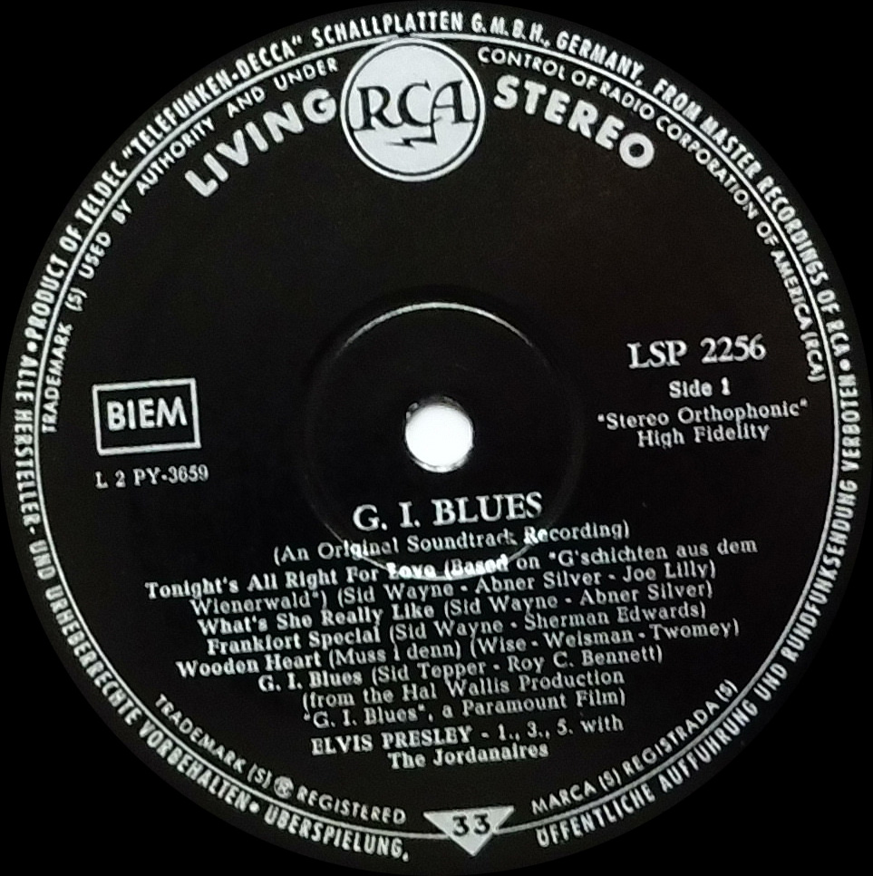 G.I. BLUES Gi60livingstereoside110juj