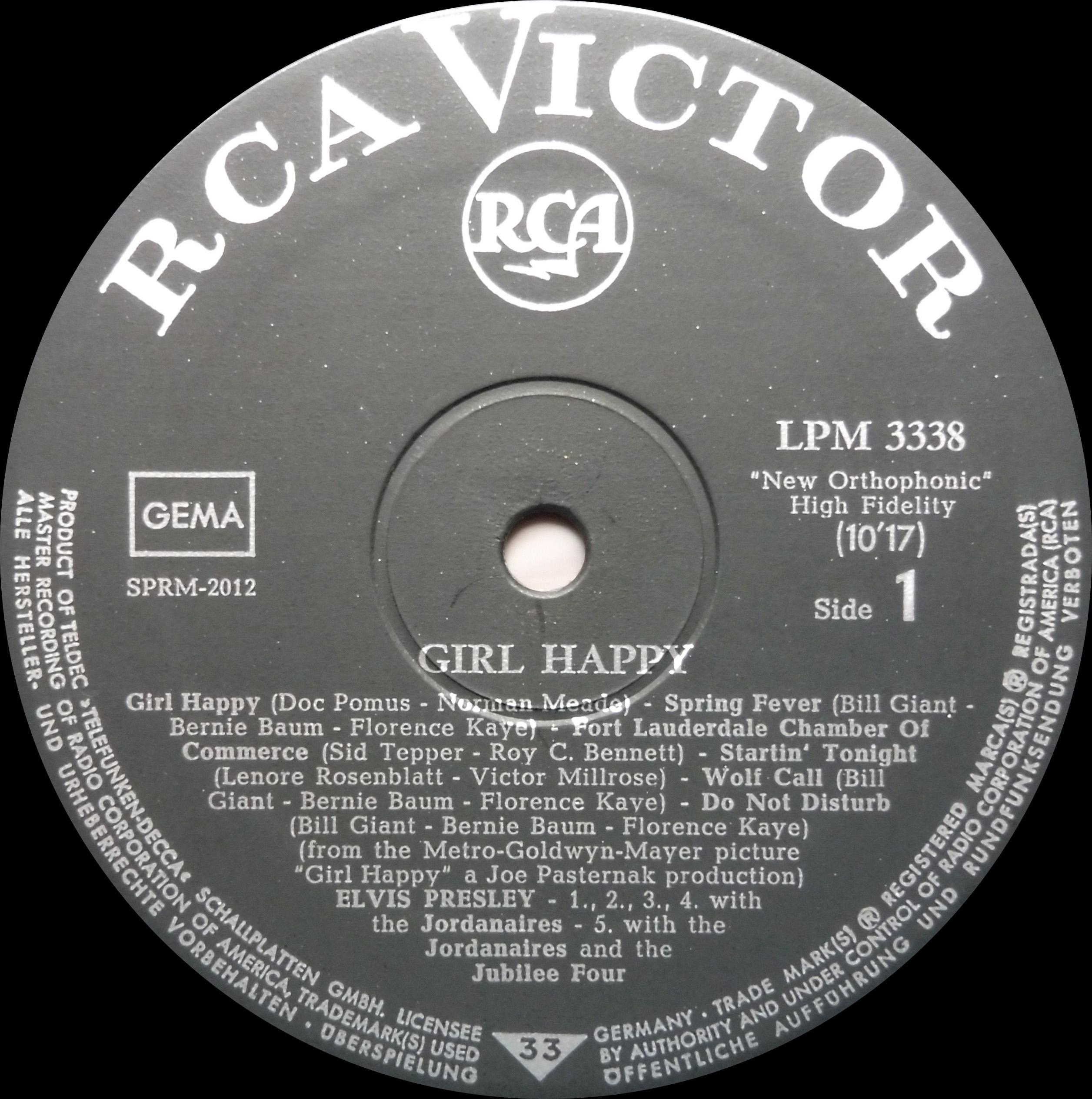GIRL HAPPY Girlhappy65lpmside1v8fl5