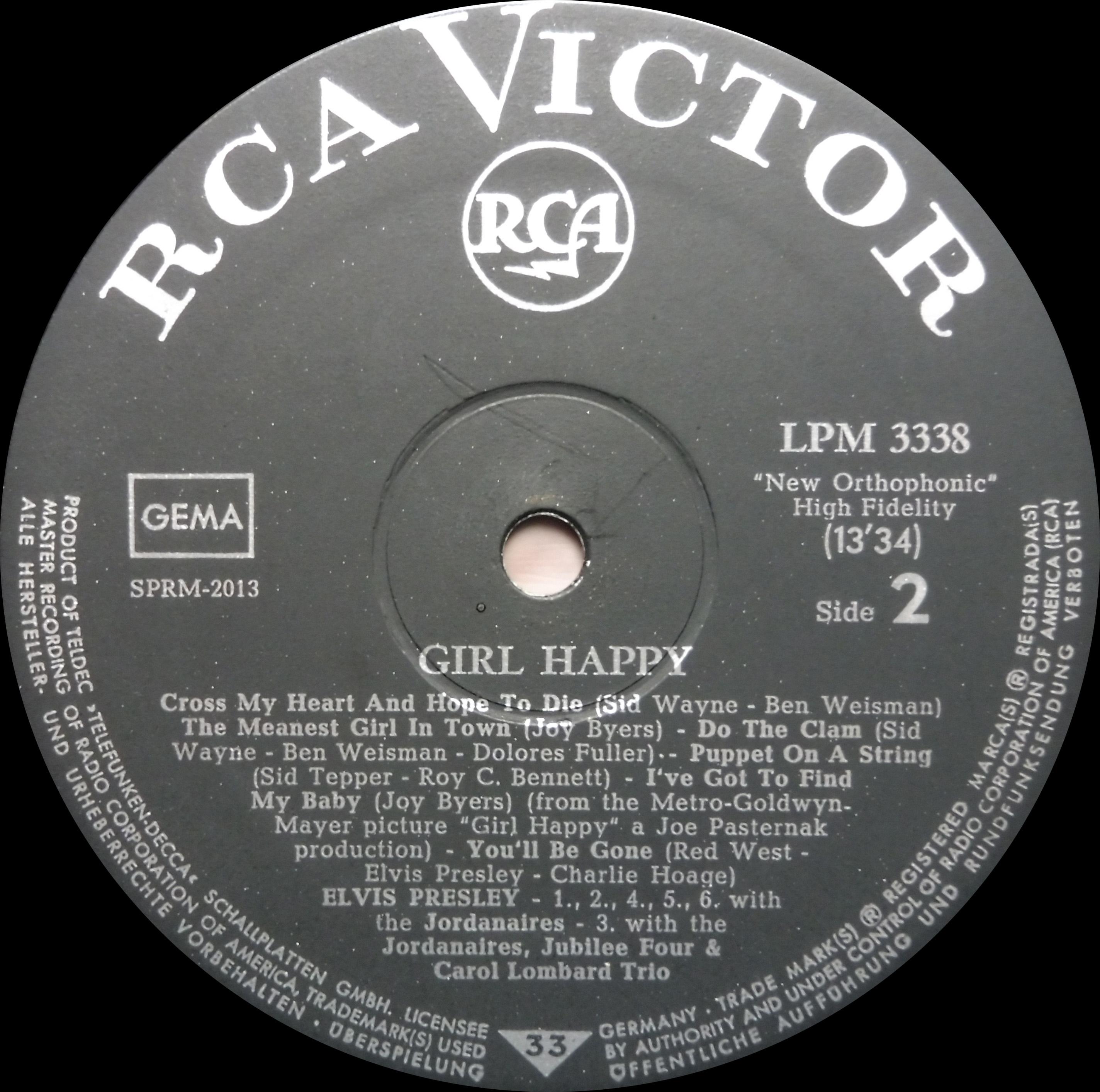 GIRL HAPPY Girlhappy65lpmside2ulfi8