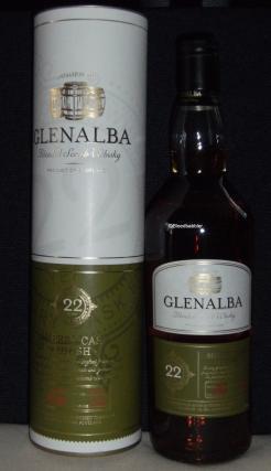 Glenalba 22 (2016) Flasche
