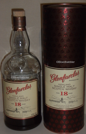 Glenfarclas 18 Flasche