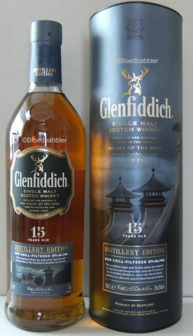Glenfiddich 15 D.E. Flasche