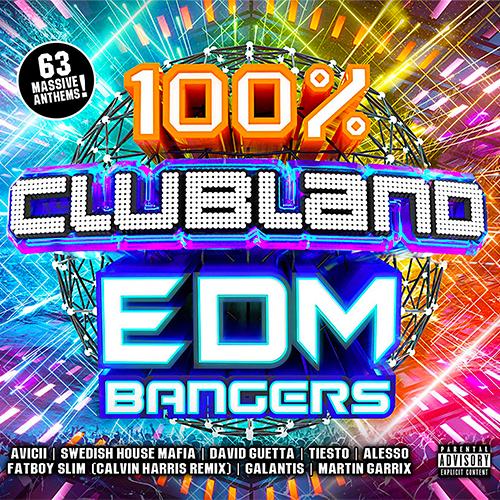 VA - 100% Clubland EDM Bangers [3CD] (2018)