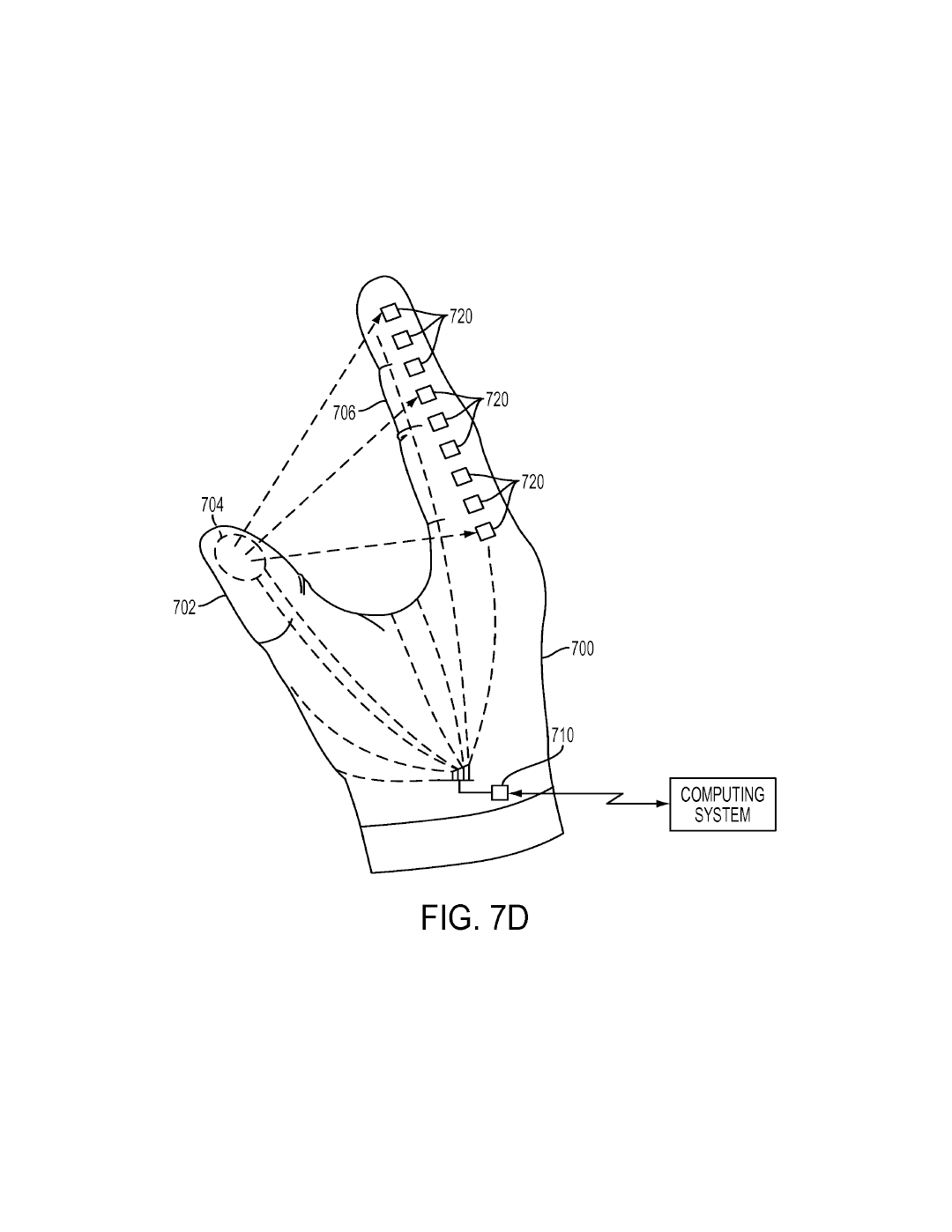 sony files 3 patents for glove controller for use with playstation PSU Apron 0091 fig 12 illustrates ponents of a head mounted display in accordance with an embodiment of the invention