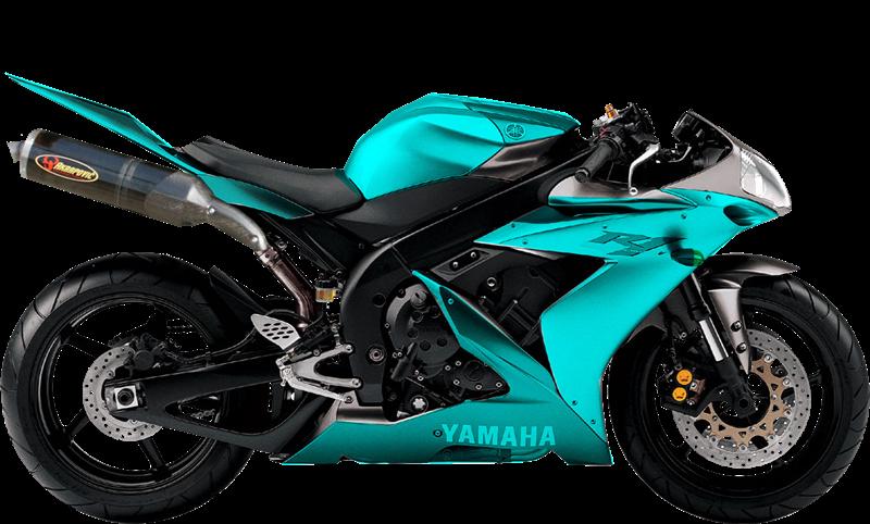 Turkuaz Renkli Yarış Motor Resimleri Png Arkafon Saydam 03 Renkli