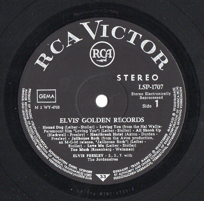 ELVIS' GOLDEN RECORDS Goldenrecords29kar