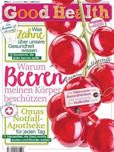 Cover: Good Health Gesundheitsmagazin No 05 Juni-Juli 2021