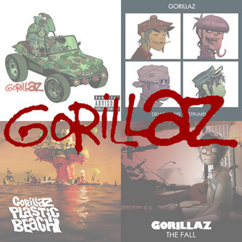 Gorillaz - The Complete Studio Albums (2017)