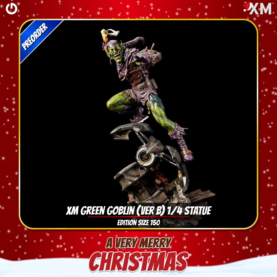 XM Studios: Christmas 2020 Greengoblini1knr