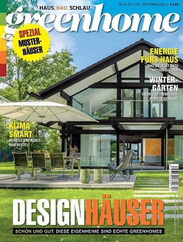 Cover: Greenhome Magazin No 03-04 Juli-September 2021