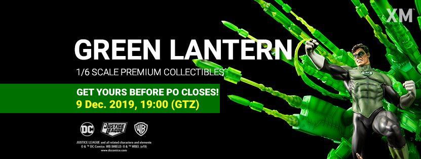 Premium Collectibles : JLA Green Lantern 1/6**   Greenlanternbannerpof47jkn