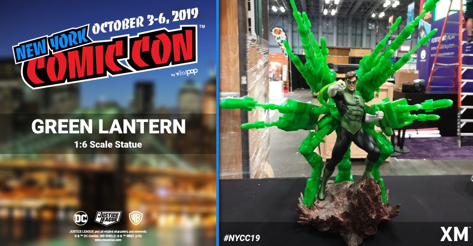 XM Studios: Coverage New York Comic Con 2019 - October 3rd to 6th  Greenlanternzzkwn