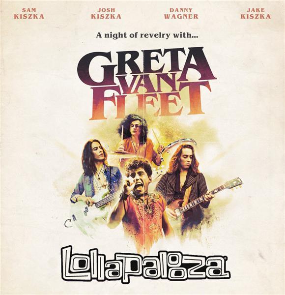 Greta Van Fleet - Lollapalooza Brazil (2019)
