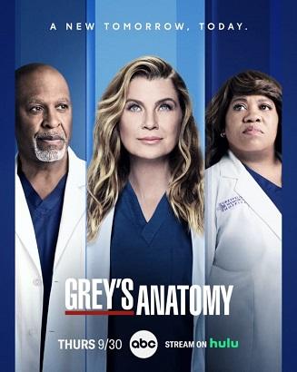 Grey's Anatomy - Stagione 18 (2021) (1/17) WEBMux ITA ENG AC3 Avi