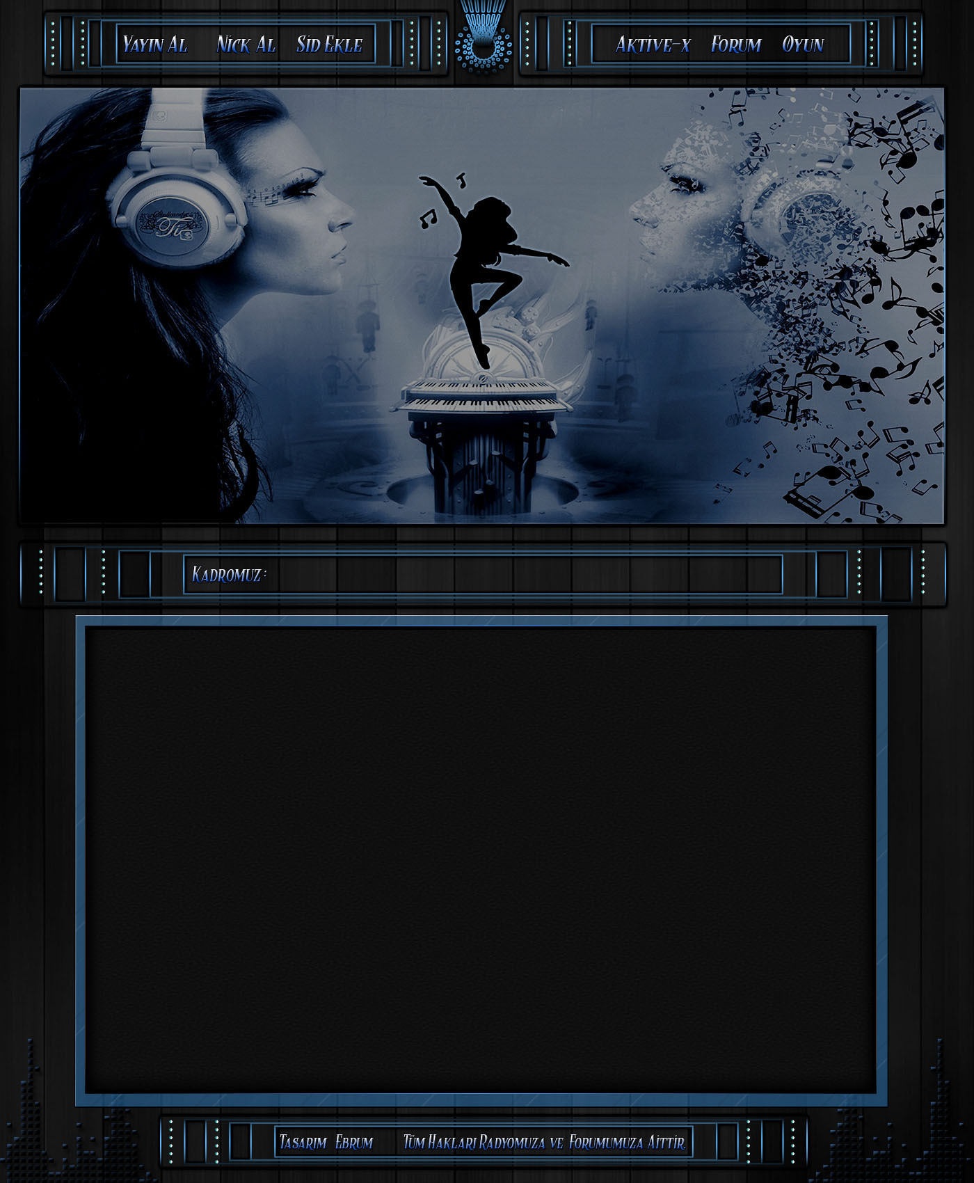 Gri Blue Müzik Dans Radyo İndex [1000x650 Boyutunda]