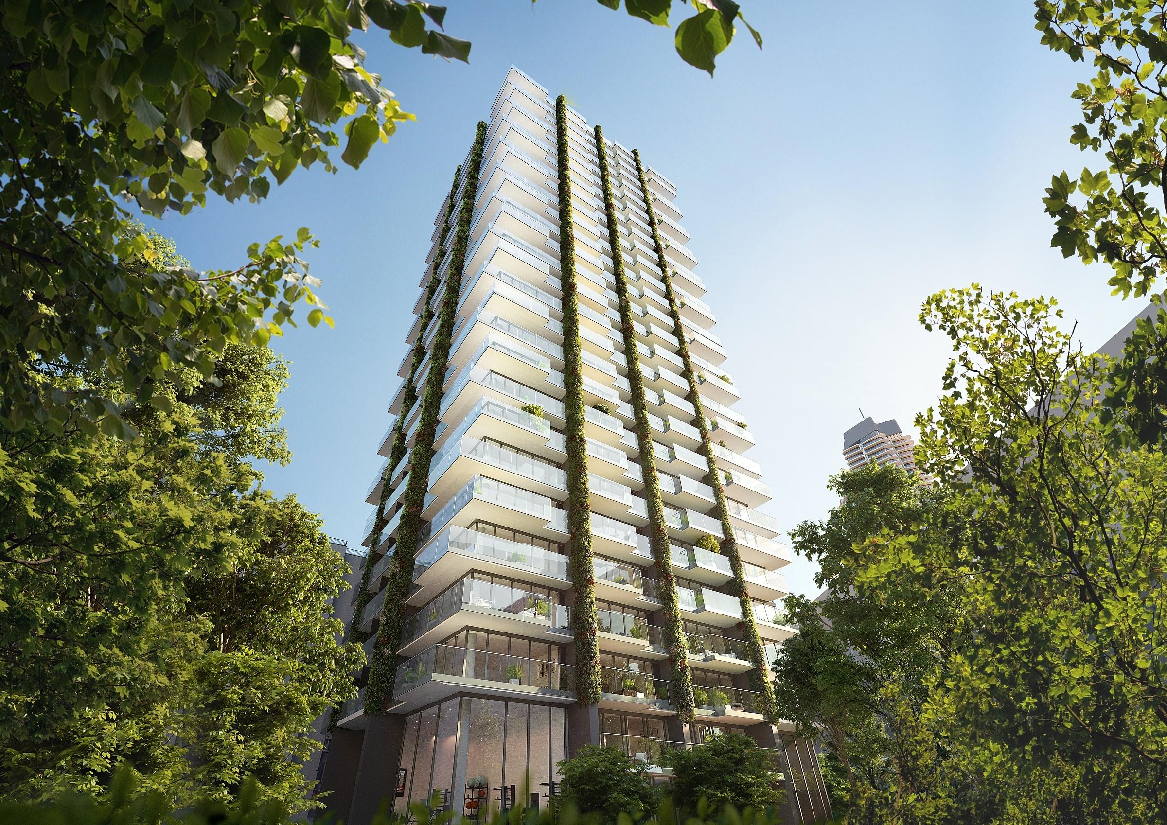 Hochhauswelten Frankfurt Wohnhochhaus Eden 98m In Bau