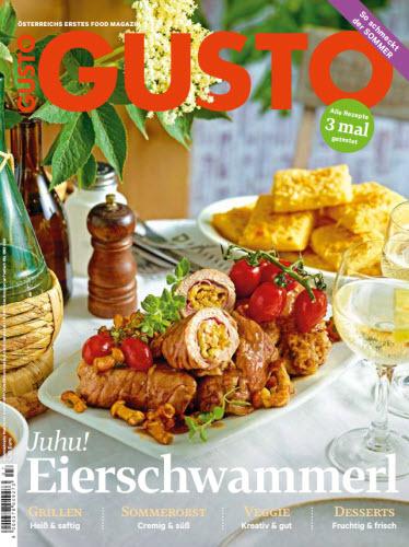 Cover: Gusto Magazin richtig gut kochen No 07 2021
