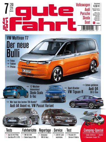 Cover: Gute Fahrt Automagazin No 07 2021