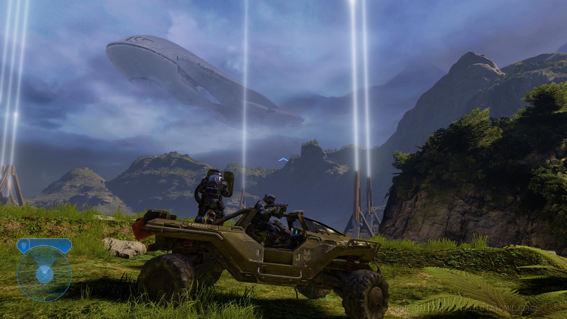 Couple of screenshots of Halo MCC with the 4k update | ResetEra