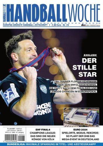 Cover: Handballwoche Magazin No 24 vom 15  Juni 2021